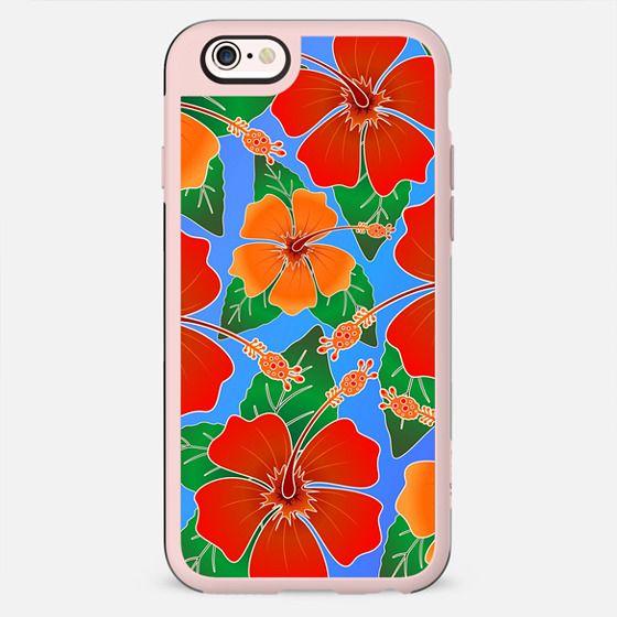 Hibiscus Batik Pattern -