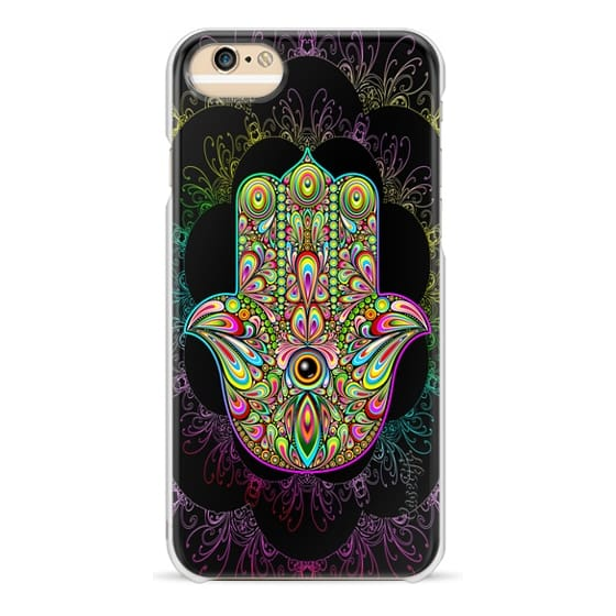 iPhone 6s Cases - Hamsa Hand Amulet Psychedelic
