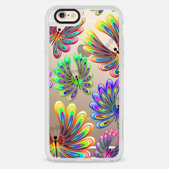 Psychedelic Abstract Butterflies