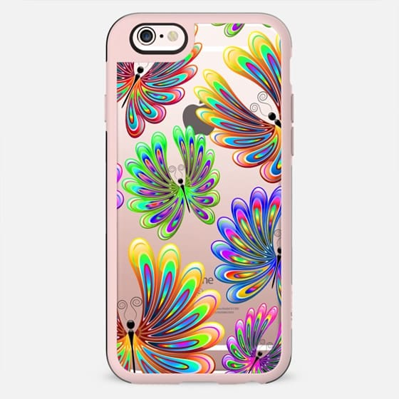 Psychedelic Abstract Butterflies - New Standard Case