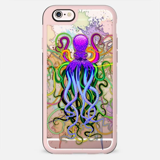 Octopus Psychedelic Luminescence - New Standard Case