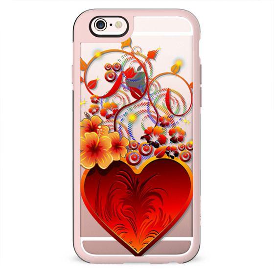 Valentine Exotic Love Heart