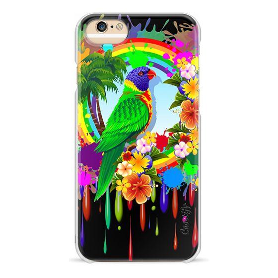 iPhone 6s Cases - Rainbow Lorikeet Parrot Art