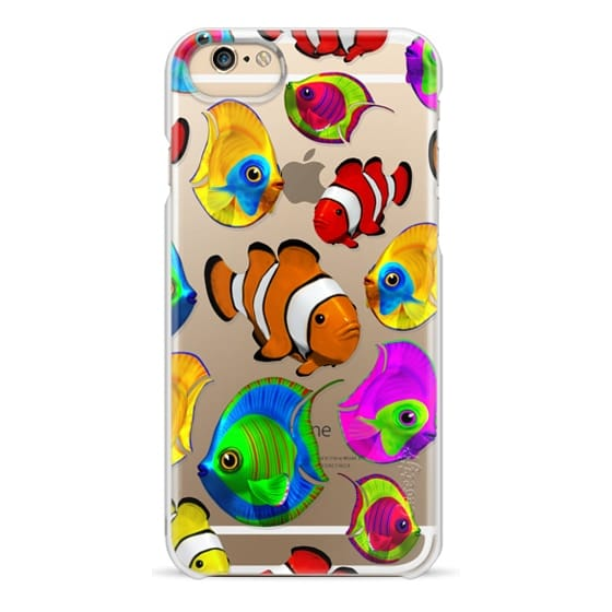 iPhone 6s Cases - Tropical Fishes 3D