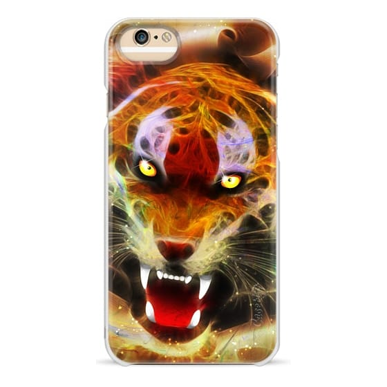 iPhone 6 Cases - Cosmic Fire Tiger Roar