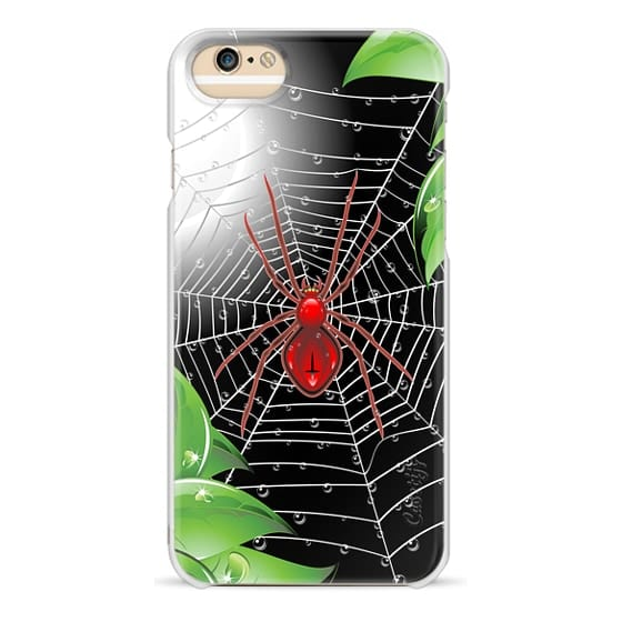 iPhone 6 Cases - Red Spider on Web