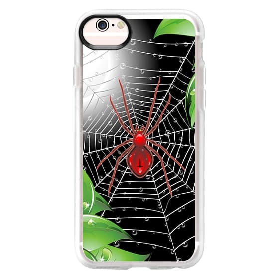 iPhone 6s Cases - Red Spider on Web