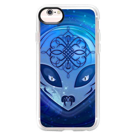 iPhone 6s Cases - Blue Alien Dream