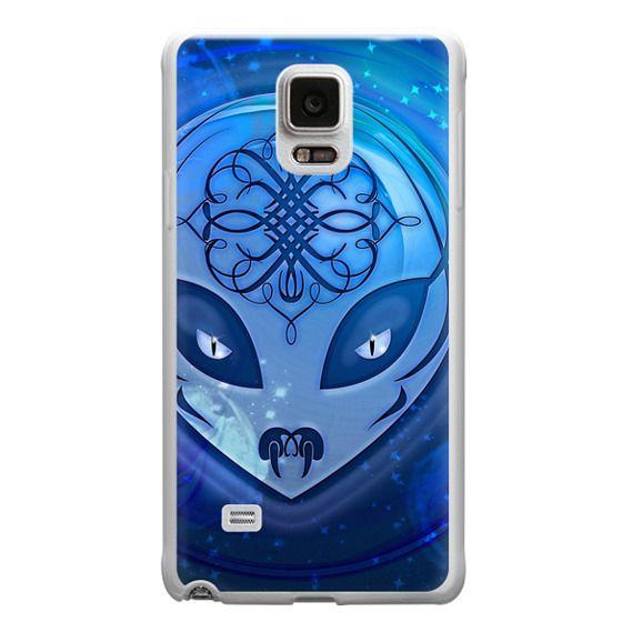 Samsung Galaxy Note 4 Cases - Blue Alien Dream