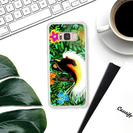 Paradise Bird Fire Feathers - Classic Snap Case