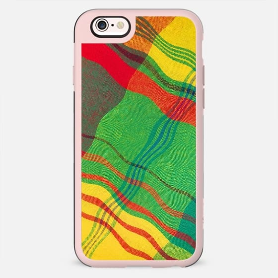 Colorful Fabric Caribbean Creole Style - New Standard Case