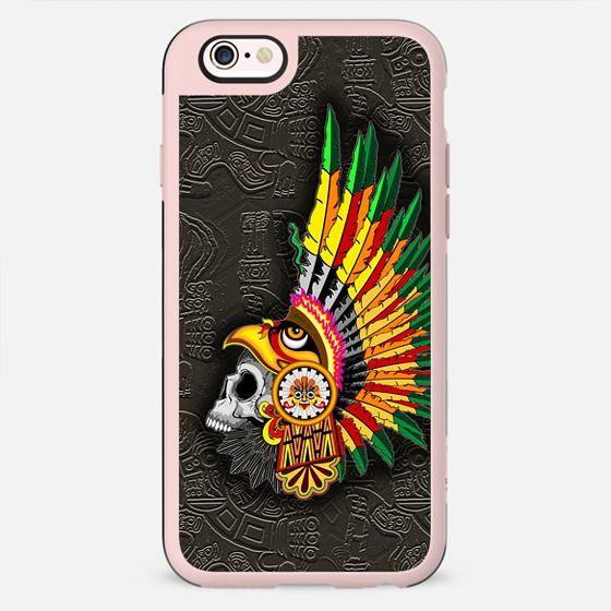 Aztec Eagle Warrior Skull - New Standard Case