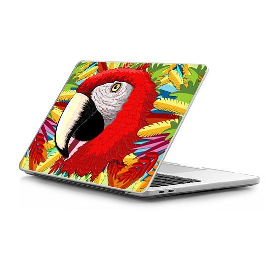 MacBook Pro Touchbar 13 Sleeves - Macaw Parrot Paper Craft Digital Art