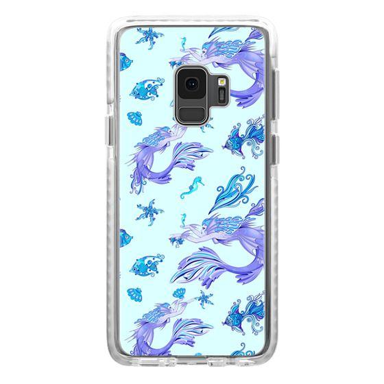 Samsung Galaxy S9 Cases - Mystic Mermaid Fairy Purple Creature
