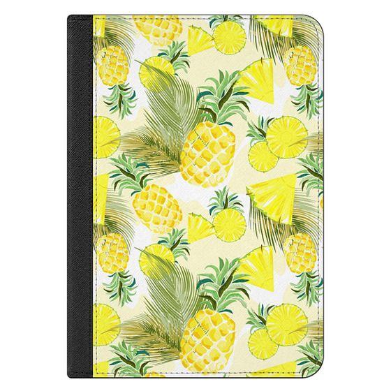 iPad Mini 4 Covers - Pineapple Watercolor Fresh Summer Fruits