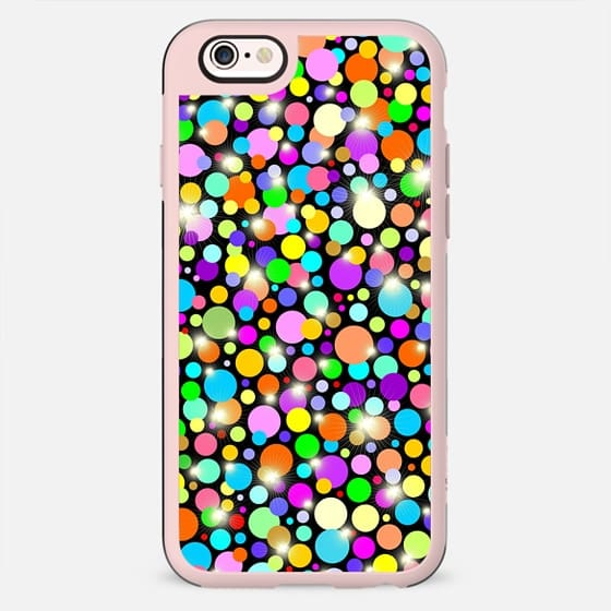 Polka Dots Psychedelic Colors - New Standard Case