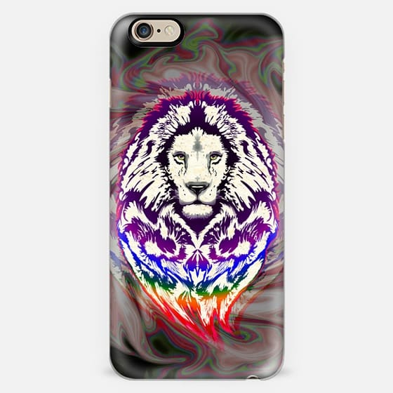 Lion Psychedelic Pop Art -