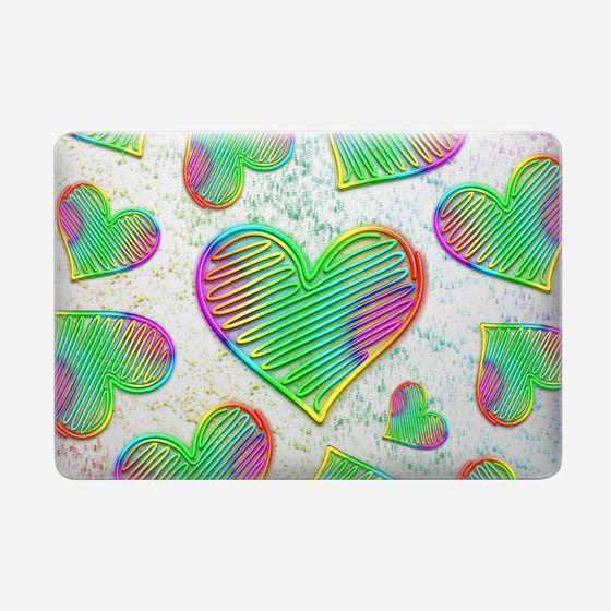 Heart Love Rainbow Neon Sign -