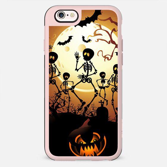 Skeletons Macabre Halloween Dance - New Standard Case