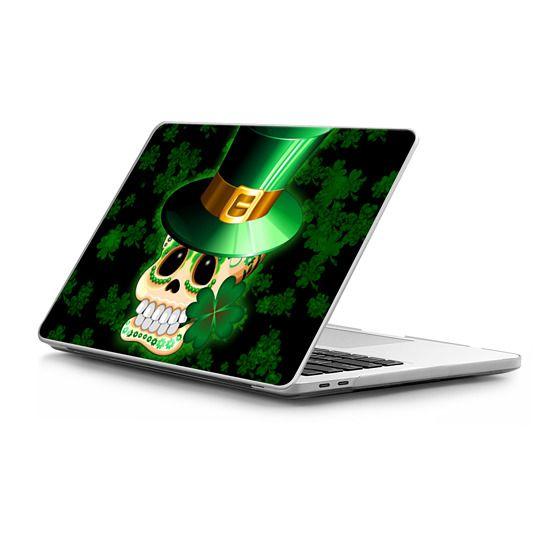 MacBook Pro Touchbar 13 Sleeves - St Patrick Skull Cartoon