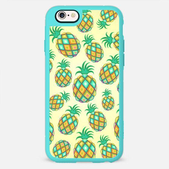 Pineapple Pastel Colors Pattern -
