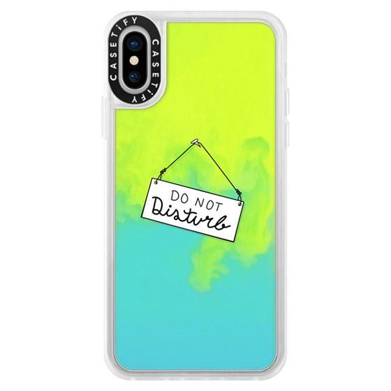 iPhone X Cases - Do Not Disturb