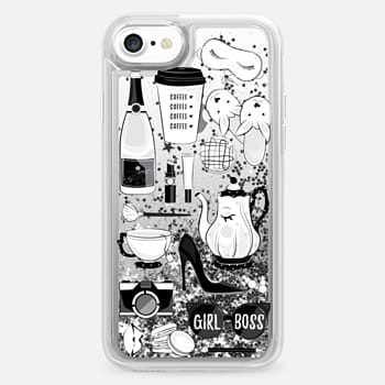 iPhone 7 Case BW flatlay