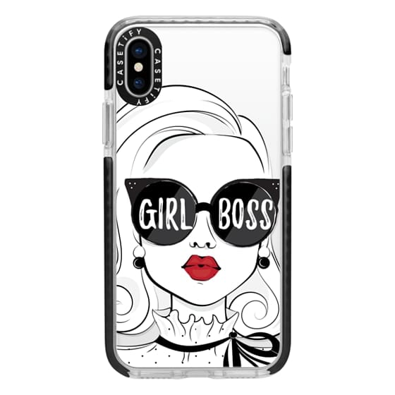 iPhone X Cases - Girl Boss