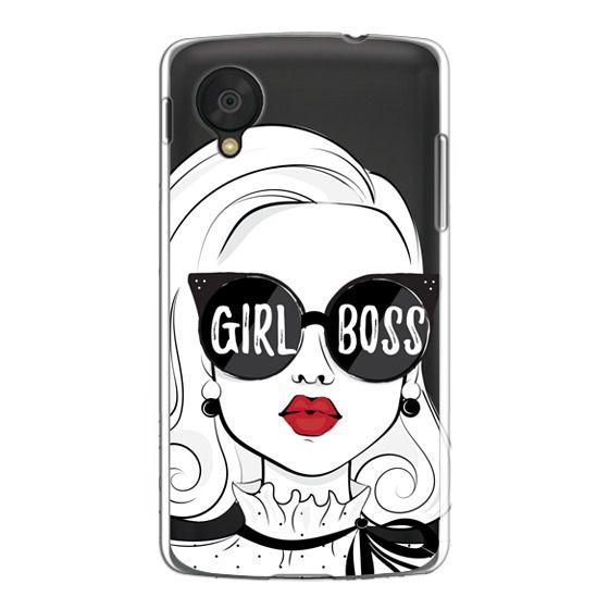 Nexus 5 Cases - Girl Boss