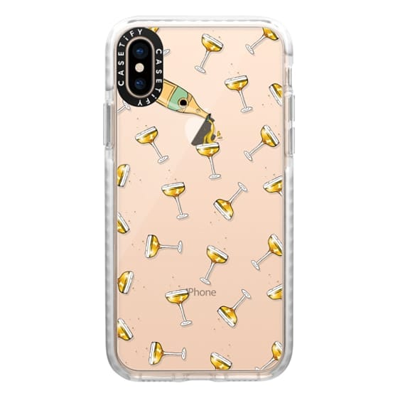 iPhone XS Cases - champagne dreams