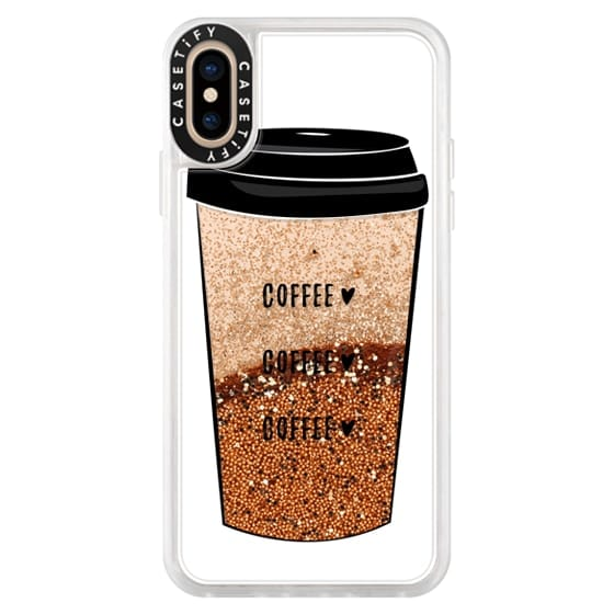 iPhone XS Cases - coffee coffee coffee