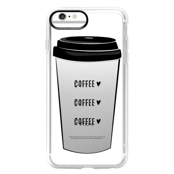iPhone 6 Plus Cases - coffee coffee coffee