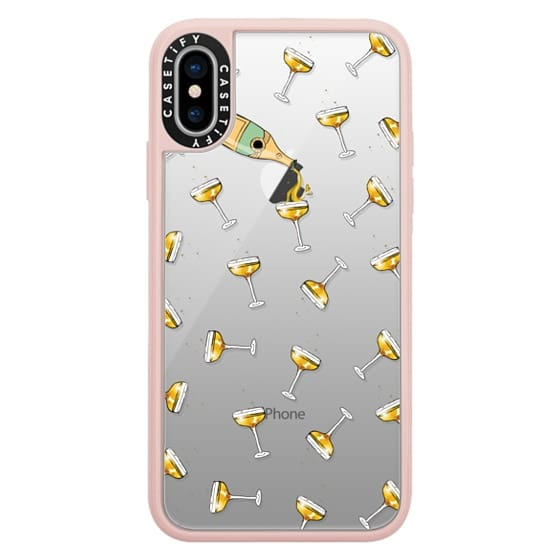 iPhone X Cases - champagne dreams