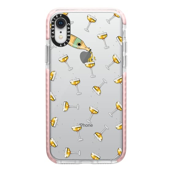 iPhone XR Cases - champagne dreams