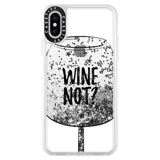 iPhone X Cases - Wine Not?