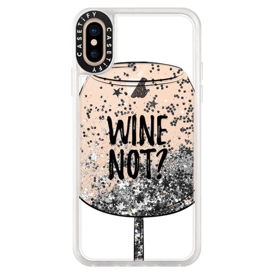 iPhone XS Cases - Wine Not?