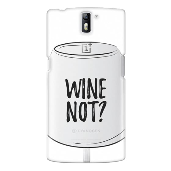 One Plus One Cases - Wine Not?