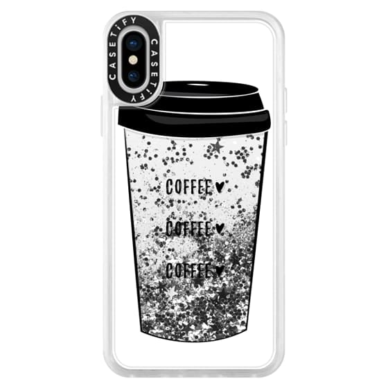 iPhone X Cases - coffee coffee coffee