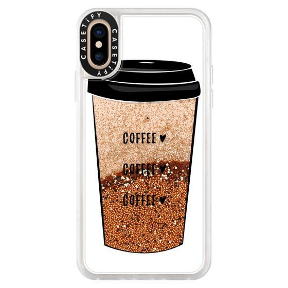 iPhone XS Cases - coffee coffee coffee