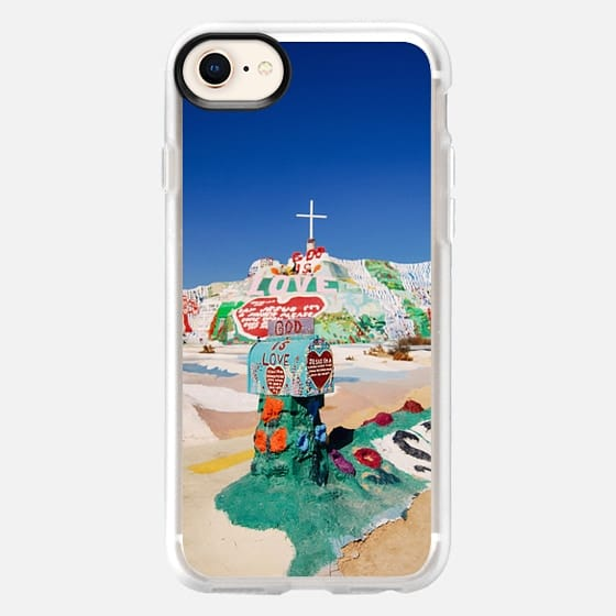 The colorful mountain - Snap Case