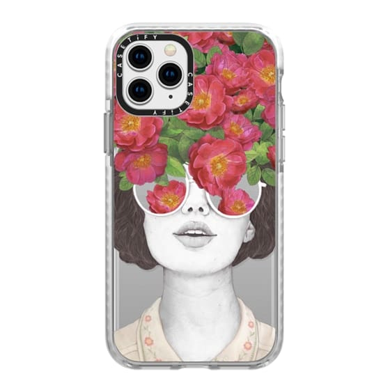 iPhone 11 Pro Cases - The optimist // rose tinted glasses