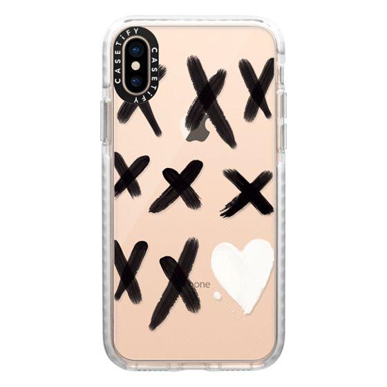 iPhone XS Cases - xo kisses