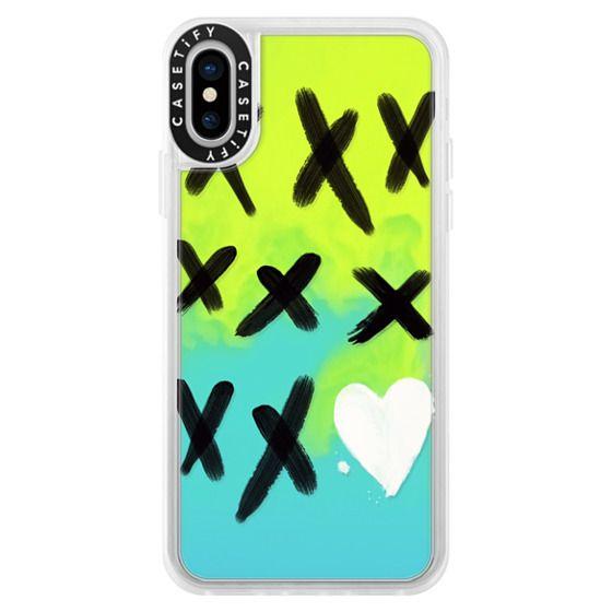 iPhone X Cases - xo kisses