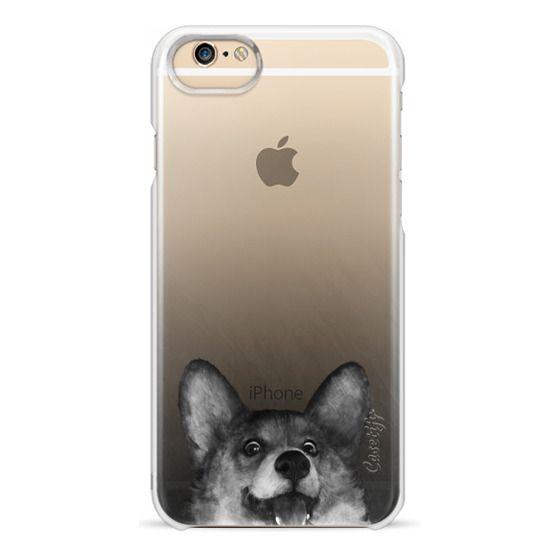 iPhone 6 Cases - corgi on gold