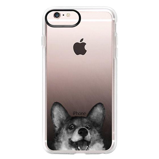 iPhone 6s Plus Cases - corgi on gold