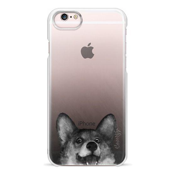 iPhone 6s Cases - corgi on gold