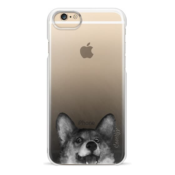iPhone 6 Cases - corgi on gold