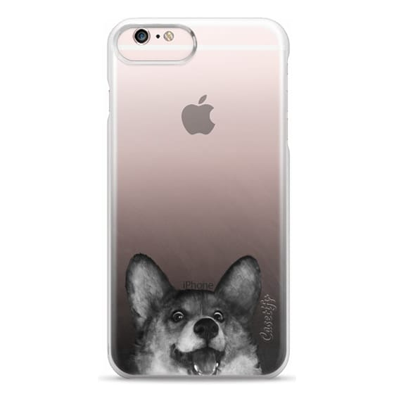 iPhone 6s Plus Cases - corgi on gold
