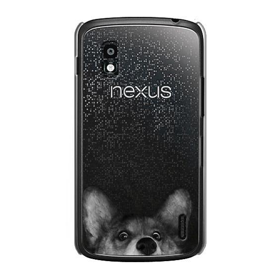 Nexus 4 Cases - corgi on gold