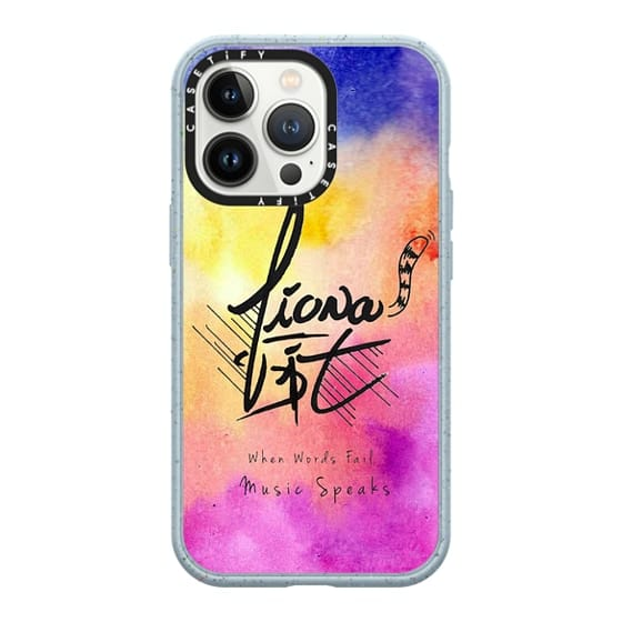 iPhone 13 Pro Cases - The Colorful Life of Fiona